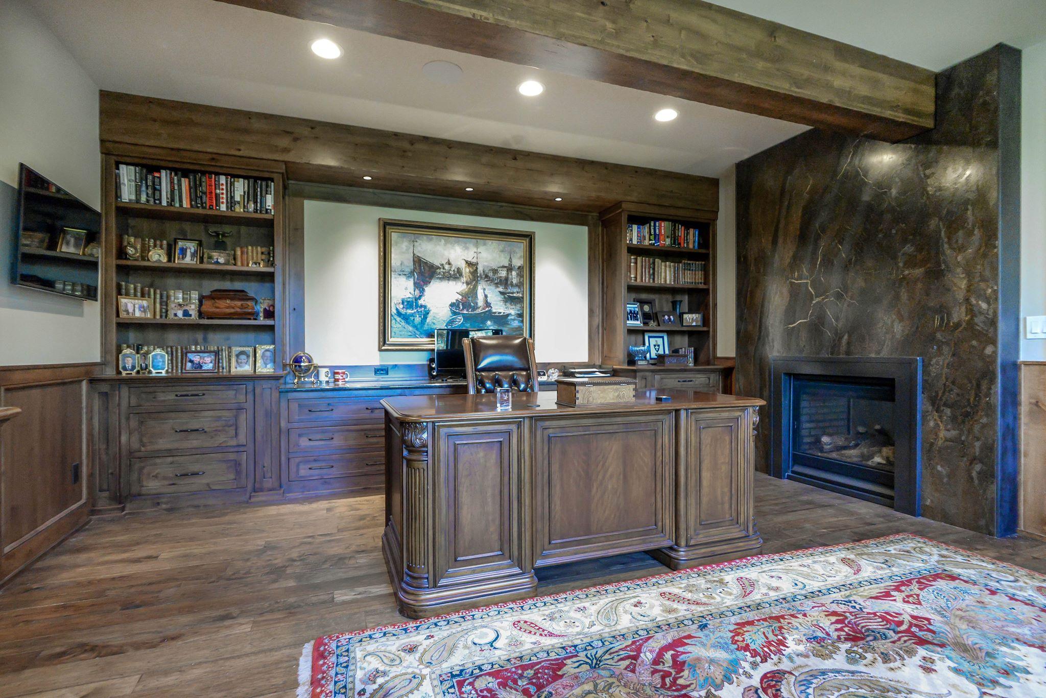 Custom furniture built